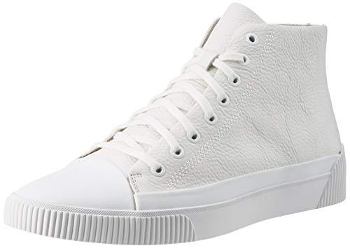 HUGO Zero_Hito_gr, Herren Hohe Sneaker, Weiß (White 100), 43 EU (9 UK)