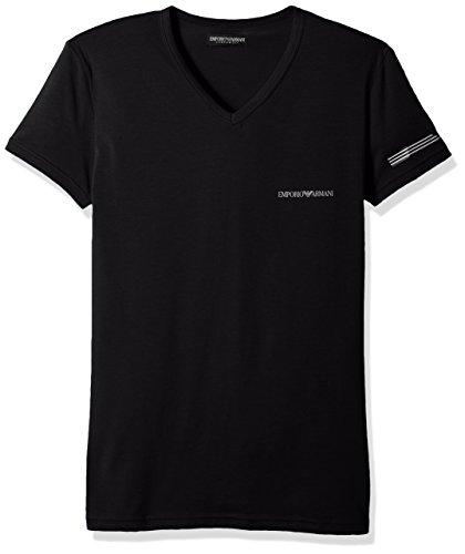 Emporio Armani Herren T-Shirt 7P723110810 00020 Black