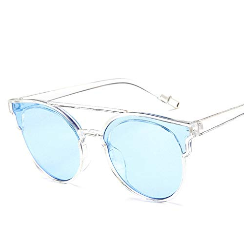 LAMAMAG Sonnenbrille Cat Eye Sonnenbrillen Damen Retro Sonnenbrillen Damen Damen Brillen Oculos De Sol Feminino Lünette Soleil, 7