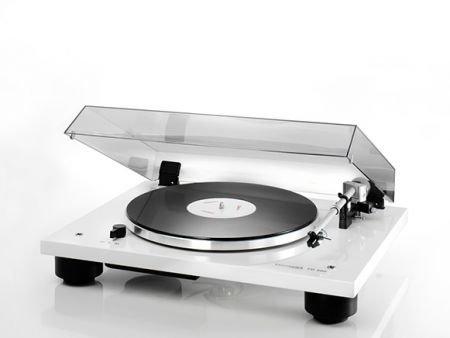 Thorens TD 206 High End Plattenspieler mit vormontiertem Tonabnehmer - Weiss glänzend