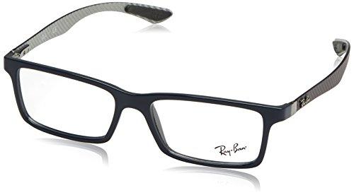 Ray-Ban Herren RB8901 Sonnenbrille, Navy Blue, 55