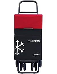 Rolser TER054 - Carro termo, color negro y rojo