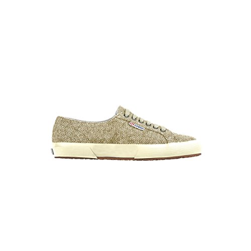 Chaussures Le Superga - 2750-herring1u Off White-Brown