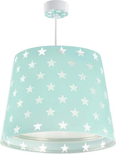 Star-decken-beleuchtung (Dalber Stars Hängelampe, Plastik, E27, grün, 33 x 33 x 25 cm)