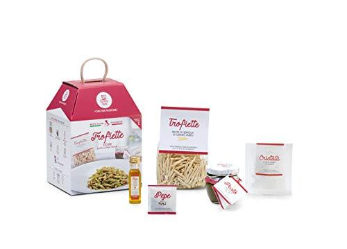 Trofiette al pesto genovese my cooking box x2 porzioni - idea regalo cesto natale