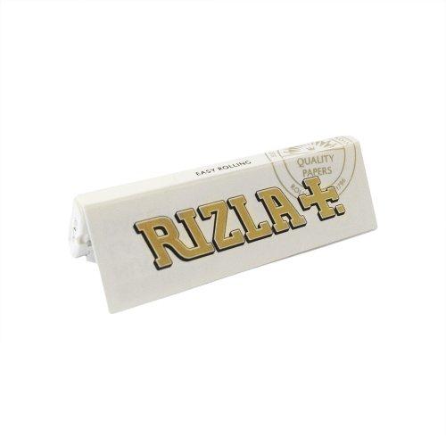 2500 CARTINE RIZLA BIANCHE CORTE 50 PZ LIBRETTI WHITE 1 BOX