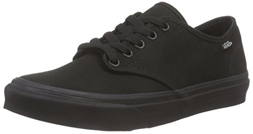 Vans Camden Stripe, Sneakers Basses femme, Noir (Canvas/Black/Black), 38 EU (5 UK)