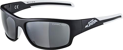 Alpina Sonnenbrille Amition TESTIDO Outdoorsport-brille, Anthracite Matt-Black, One Size