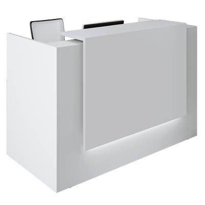 empfangstheke weiss Empfangstheke weiß 166,0 x 88,0 x 113,0 cm