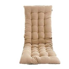 NJ coussin- Coussin d'hiver pour fauteuil à bascule coussin un coussin femelle coussin de dossier en rotin antidérapant…