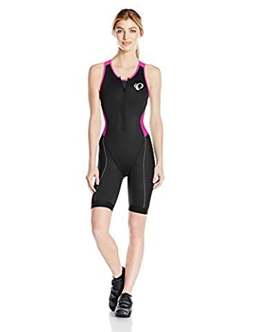 Pearl Izumi Elite Pursuit Tri Suit Femme Triathlon Body/einteiler courte noir/rose 2017, M (38/40)