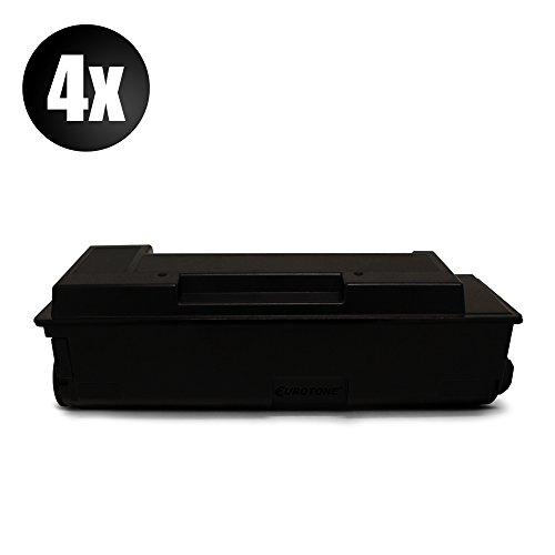 Preisvergleich Produktbild 4x Eurotone Toner für Kyocera Ecosys P 2035 d dn ersetzt 1T02LY0NL0 TK160
