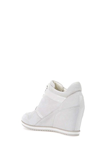Geox D5454A 021HH Sneakers Donna Bianco