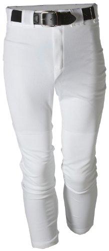 Adams Baseball Hose mit Gürtelschlaufen, unisex damen, weiß