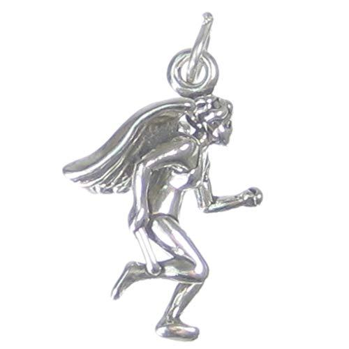 Engel Läufer (Läufer Engel Sterlingsilber Amulett .925 x 1 Laufen Engel Anhänger sslp2936)