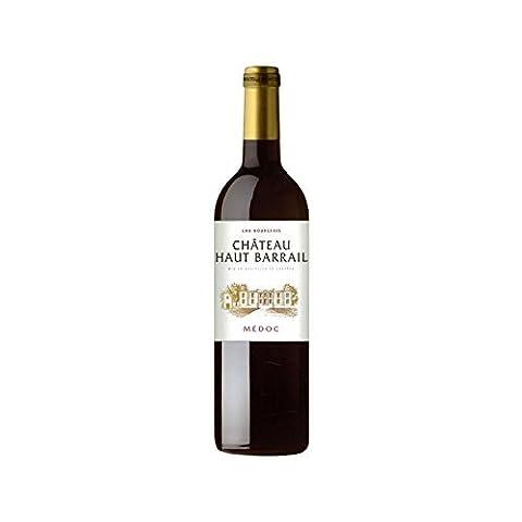Vin - Château Haut Barrail - MÉDOC - Cru Bourgeois - 2012 - Caisse de 6 bouteilles