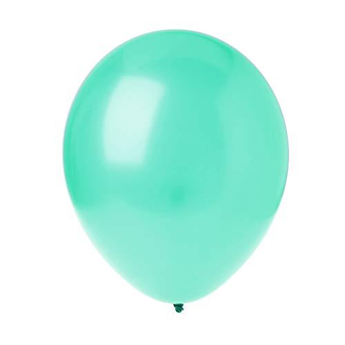 ZJL220 Perla 10 Pulgadas Globos inflables decoración del Banquete de Boda Globos Verdes