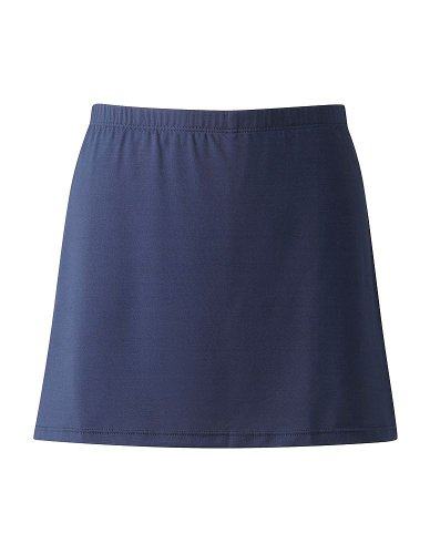 Direct Uniforms-SKORT-COMBI SKIRT & SHORT-Girls/Ladies-Black or Navy (26/28, Navy)