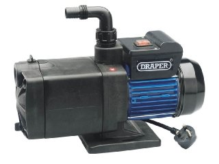 Draper 56227 100-Litres-per-Minute 1,000-Watt 230-Volt Multi-Stage Surface-Mounted Pump