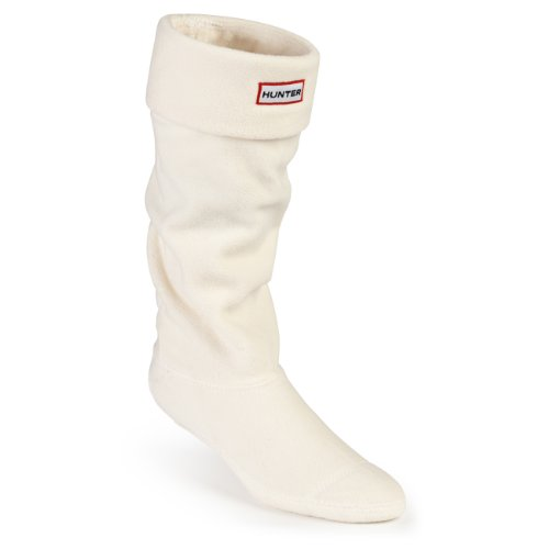Hunter Boots Calcetines Welly Socks de forro polar para botas de agua - beige - L