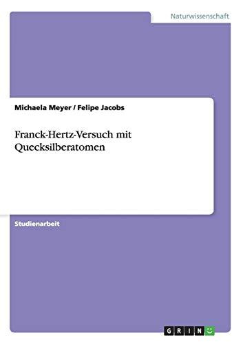 Franck-Hertz-Versuch mit Quecksilberatomen