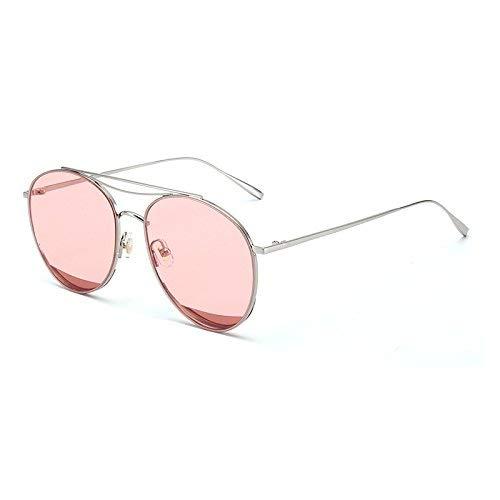 Star zusammen Stil Sonnenbrille weiblichen Stil der koreanischen Persönlichkeit rundes Gesicht Sonnenspiegel Männer von Fan Ers Fahren transparente Brille
