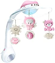 Infantino 3 In 1 Projector Musical Mobile - Pink
