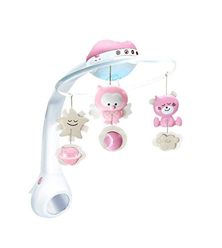 Infantino Sanftes Licht /& Projektor Nachtlicht rosa