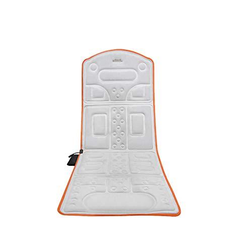 Vibration 10 Motor Massage Ganzkörper-Kissen Pad mit Wärme - Lumbal - Hals - Schulter - Rücken - Leg & Oberschenkel-Massagegerät mit Wärmetherapie - 10 Motor-rücken-massage-kissen
