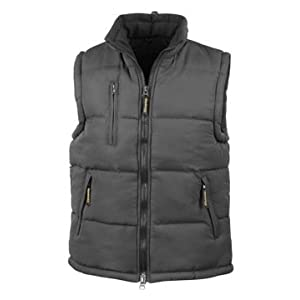 31hezc2av7L. SS300  - RESULT PADDED HEAVYWEIGHT BODYWARMER - 4 COLOURS