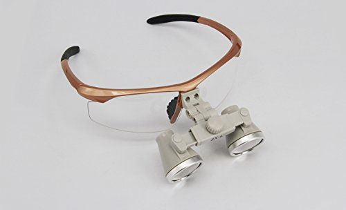 Ymarda CH3.0X Binocular Loupes Surgical Dental Loupes (3.0x Magnification with different working distances) (R(360-460mm)) (Surgical Optics)