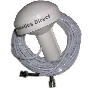 Marine GPS Antenne BNC & TNC Armaturen (weiß)