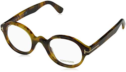 Tom Ford Unisex-Erwachsene Optical Frame Ft5490 056 46 Brillengestelle, Braun,