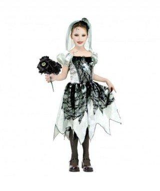 Disfraz Novia Fantasma Holograma para niña(10-12 años)
