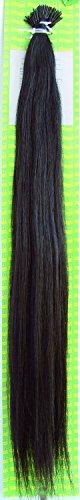 'Dream Hair Stick Extensions 100 Pieces Str 22 : 2 22/56 cm Human Hair Extensions de cheveux Marron Foncé (Extension de cheveux 56 cm 100s)