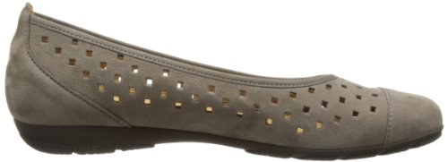 Gabor Shoes Gabor 84.169.13 Damen Ballerinas Grau (Fumo)