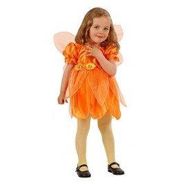 leine Blütenfee, orange, Größe 98 (Flower Fairy Kostüm)