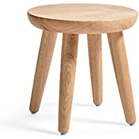 GJ-jiaodeng Round Wooden Support Fußhocker Change Schuh Small Hocker Dressing Hocker Fußstütze Sitz (größe : 31 * 30CM) preisvergleich bei kinderzimmerdekopreise.eu