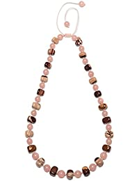 Lola Rose Women Grey Quartz Strand Necklace of Length 50cm 716352 pF1vdSCfSd