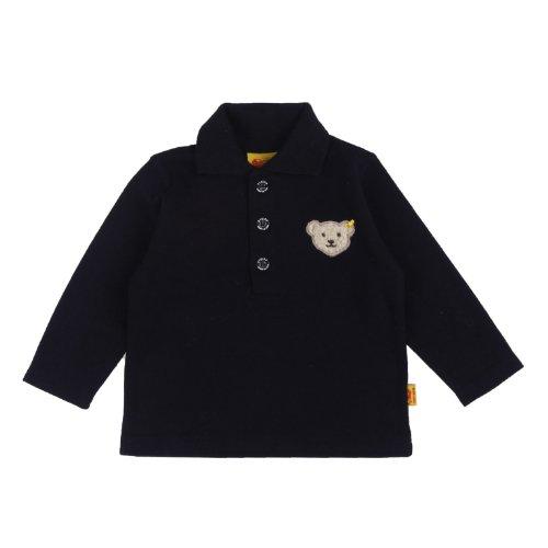Steiff Unisex - Baby Sweatshirt 0006831, Gr. 92, Blau (3032)