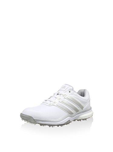 adidas, Scarpe da Golf Donna, Multicolore (Blanco/Plata/Plata Oscuro), 36 EU