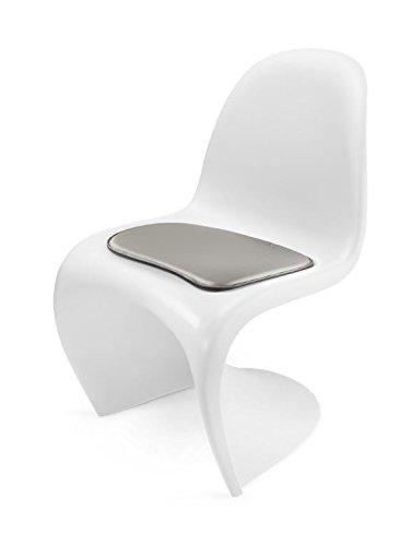 Hill Uomo Living Cuscino per sedia Panton CHAIR – Seduta in pelle per  Design classico Panton CHAIR, morbida imbottitura e rivestimento  antiscivolo, ...