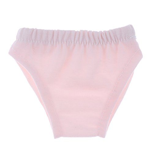 Fenteer Puppen Blumen Slips Unterwäsche Schlüpfer Kleidung für 18 Zoll Mädchen Puppen - Rosa - Slip Puppe Kleidung