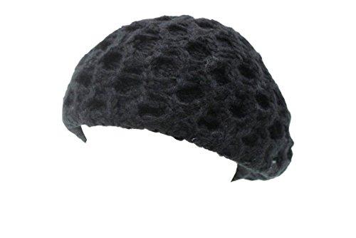 Cappello donna Romeo Gigli l.traforata mod.basco 19032 nero