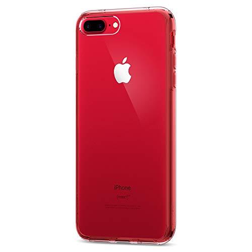 671e5552fa7 spigen Funda iPhone 7 Plus, [Ultra Hybrid] Air Cushion [Crystal Clear] Clear  Back Panel + TPU Bumper Funda Carcasa para iPhone 7 Plus (2016) -  (043CS20547)