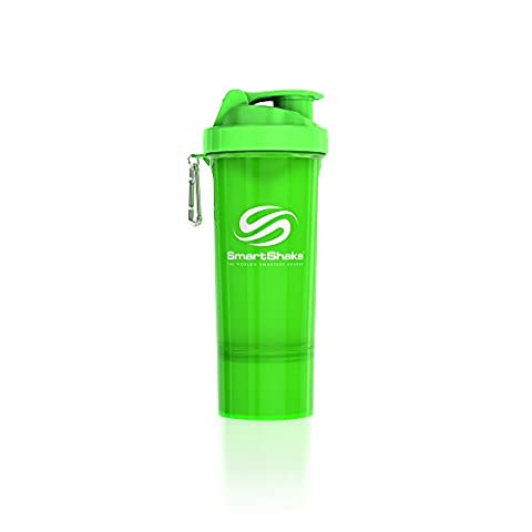 SmartShake 500 ml/18 oz, grün Slim neon, 1er Pack
