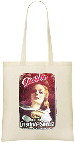 Jimmy Apparel Königin Christina Poster - Queen Christina Poster Custom Printed Shopping Grocery Tote Bag 100% Soft Cotton Eco-Friendly & Stylish Handbag For Everyday Use Custom Shoulder Bags Christina Königin