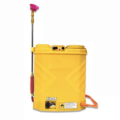 YFASD 18l Pompa Irroratrice Irroratore Elettrica Batteria al Litio Diserbante Spalla Zaino Spruzzatore