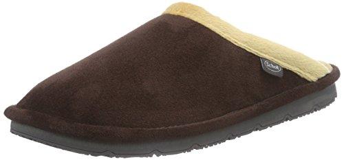 Scholl BRIENNE brown/beige, Chaussons bas pour la maison, doublure froide femme Marron (brown/beige)