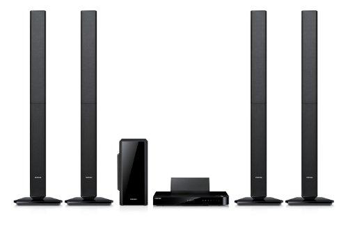 Samsung HT-F5550 5.1 3D-Blu-ray-Heimkinosystem (1000 Watt, 3D Sound Plus, WiFi Ready, Smart Hub) schwarz